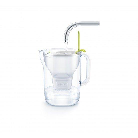 BRITA Style XL LED Филтрираща кана за вода (3,6 л.) - лайм