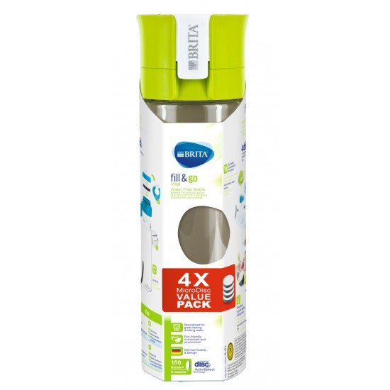 BRITA Fill&Go Vital Филтрираща бутилка за вода - лайм