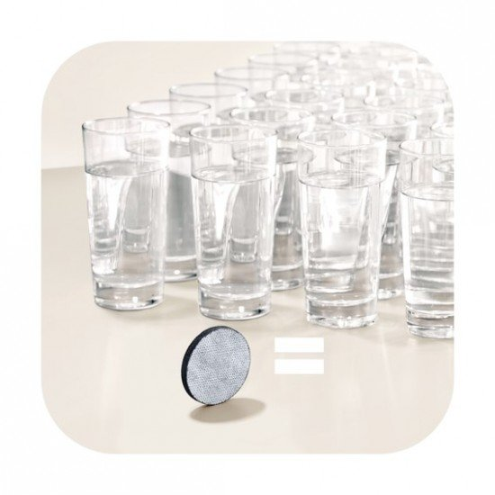 СУПЕР ПРОМОЦИЯ: BRITA Fill&Serve Mind Филтрираща гарафа за вода - сива лента