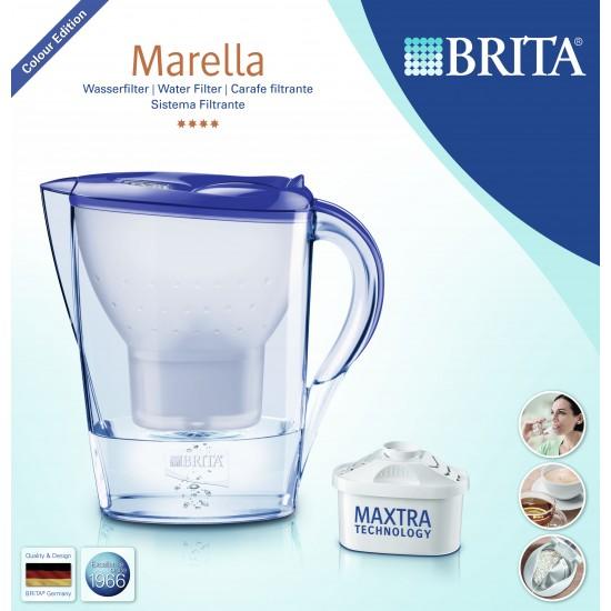 BRITA Marella Cool Memo Филтрираща кана за вода - лавандула